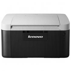 联想LJ2206黑白激光打印机家用学生办公小型A4文档A5凭证