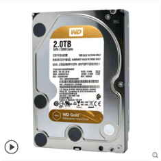 正品西部数据WD2000G 企业级金盘2T 西数3.5英寸硬盘SATA3 2TB